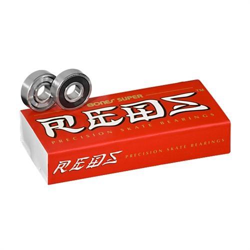 Bones Super Red Bearings 8mm 16pk