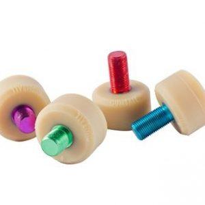 Gumball V2 Flat Coloured Toe Stops