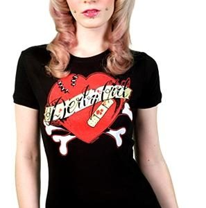 Sour Puss Bruised Heart T - Shirt