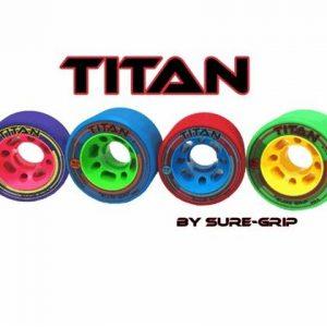 Sure-Grip Titan Narrow 59 mm Wheels 4pk