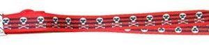 Suregrip Laces Black/Red Skulls N Crossbones