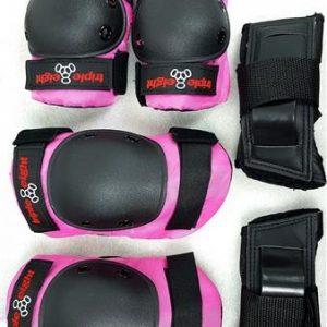 Triple 8 Junior 3 Pack Pink