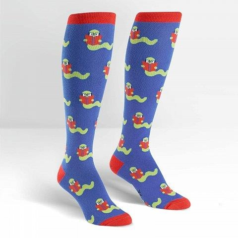Sock It To Me Knee High - Book Worm