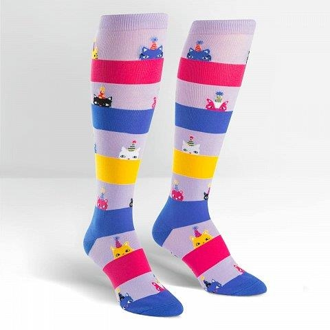 8295b56d9 Sock It To Me Knee High - Happy Purrday